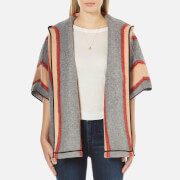 Maison Scotch Women's Hooded Throw-On Jacket - Multi