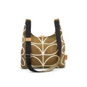 Orla Kiely Women's Linear Stem Print Midi Sling Bag - Camel
