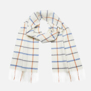 Barbour Women's Country Tattersall Scarf - Arctic Plaid