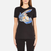 Vivienne Westwood Anglomania Women's Scribble Orb T-Shirt - Black