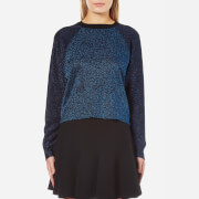 Sportmax Women's Rosi Lurex Jumper - Cornflower Blue