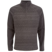 Craghoppers Men's Elliston Zip Neck Fleece - Black Pepper