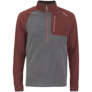 Craghoppers Men's Salisbury Half Zip Fleece - Oxblood