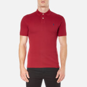 Polo Ralph Lauren Men's Short Sleeve Slim Fit Polo Shirt - Eaton Red