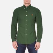 Polo Ralph Lauren Men's Long Sleeve Button Down Shirt - Bentley Green