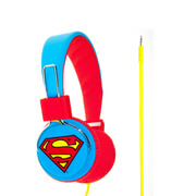 Superman Folding On-Ear Headphones - Superman Logo