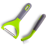 Tower T80427 Peeler and Brush Set