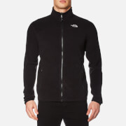 The North Face Men's 100 Glacier Full Zip Fleece - TNF Black