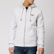Superdry Men's Orange Label Zip Hoody - Ice Marl