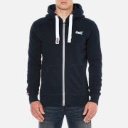 Superdry Men's Orange Label Zip Hoody - Eclipse Navy
