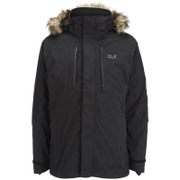 Jack Wolfskin Men's Ross Island 3-in-1 Jacket - Black