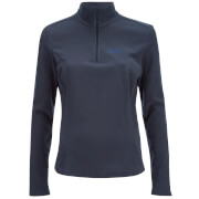 Jack Wolfskin Women's Gecko Fleece Jumper - Night Blue