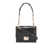 Karl Lagerfeld Women's K/Reptile Mini Handbag - Black