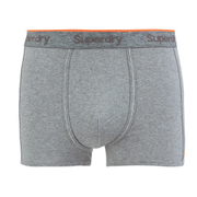 Superdry Men's Orange Label Triple Pack Boxers - Dark Marl