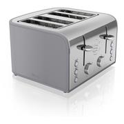Swan ST17010GRN 4 Slice Retro Toaster - Grey
