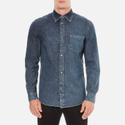 Cheap Monday Men's Rude Denim Shirt - Graphite Blue