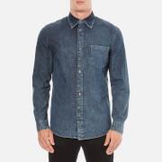 Cheap Monday Men's Rude Denim Shirt - Graphite Blue