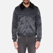 Cheap Monday Men's Freeze Bomber Jacket - Navy