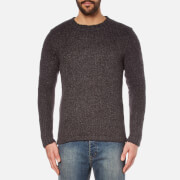 Cheap Monday Men's Caught Knitted Jumper - Charcoal Grey Melange