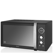Swan Retro 25L Digital Combi Microwave with Grill - Black