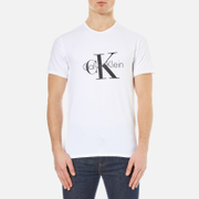Calvin Klein Men's Large Logo T-Shirt - White