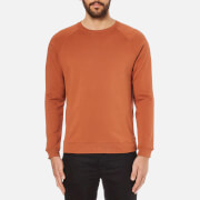 Folk Men's Crew Neck Sweatshirt - Rust
