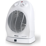 Pifco PE174 2000W Oscillating Fan Heater - White