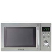 Daewoo KOR6N7RS Touch Control Solo Microwave Oven - Metallic