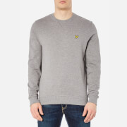 Lyle & Scott Men's Crew Neck Sweatshirt - Mid Grey Marl