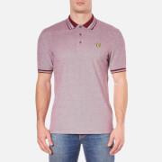 Lyle & Scott Men's Short Sleeve Oxford Polo Shirt - Claret Jug