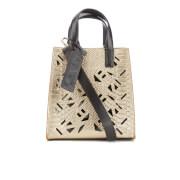 KENZO Women's Essentials Mini Tote Bag - Gold