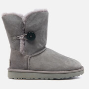 UGG Women's Bailey Button II Sheepskin Boots - Grey