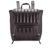 DKNY Women's Gansevoort Mixed Bombay and Quilted Backpack - Black
