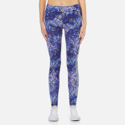 Superdry Women's Core Gym Leggings - Purple Python