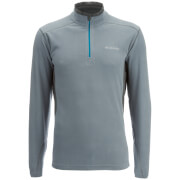 Columbia Men's Klamath Range II Fleece - Grey Ash/Grill