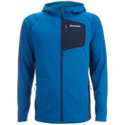 Columbia Men's Jackson Creek 11 Zipped Fleece - Marine Blue