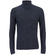Produkt Men's Roll Neck Jumper - Dress Blue