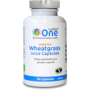 Wheatgrass Juice Capsules - 90 Capsules (500mg)