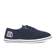 Henleys Men's Stash Canvas Pumps - Navy