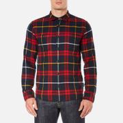 Edwin Men's Labour Shirt - Red/Black