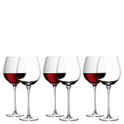 LSA Red Wine Glasses - 750ml (Set of 6)