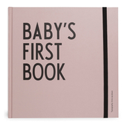 Design Letters Kids' Collection Baby's First Book - Pink