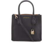 MICHAEL MICHAEL KORS Women's Mercer Mid Messenger Tote Bag - Black