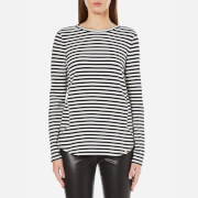 BOSS Orange Women's Terstripe Long Sleeve Top - Multi