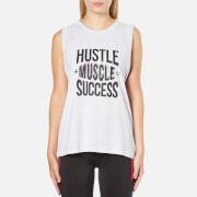 MINKPINK Women's Hustle Muscle Success Tank - Grey Marle