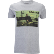 Boys In The Hood Men's Photo T-Shirt - Grey Marl