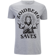 Futurama Men's Zoidberg Saves T-Shirt - Grey Marl