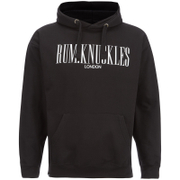 Rum Knuckles Men's London Logo Hoody - Black