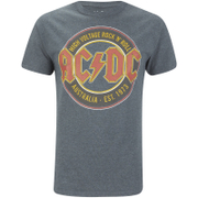 AC/DC Est 73 Heren T-Shirt - Dark Heather
