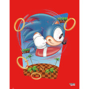 Sonic the Hedgehog 'Rings' Art Print